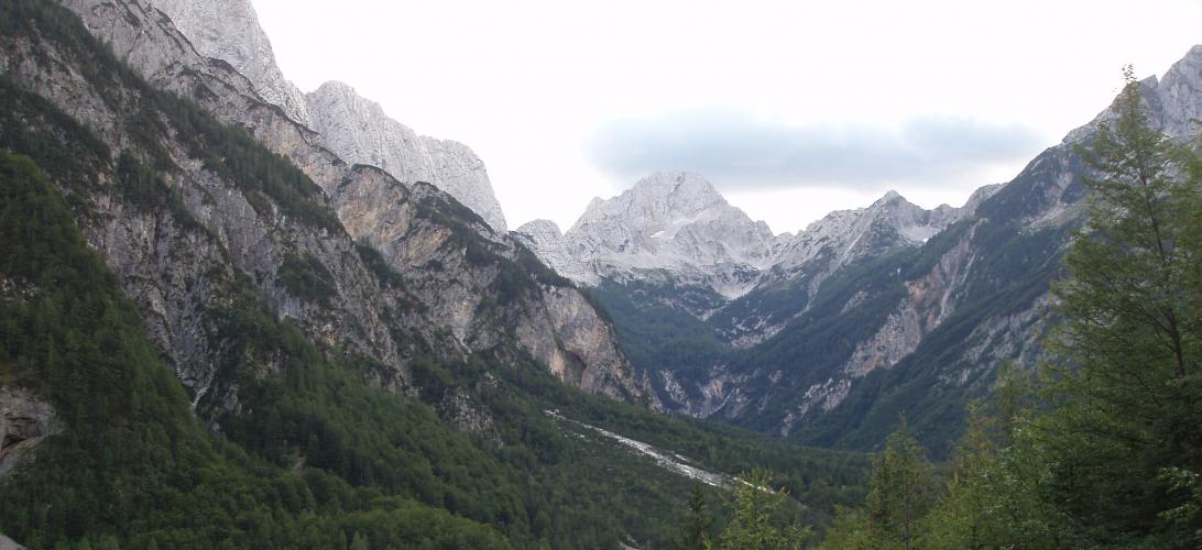 Upper Trenta Valley