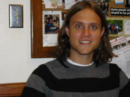 Graduate Student Matt Boyd