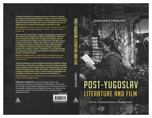 Cover of the book, Post-Yugoslav Literature and Film.