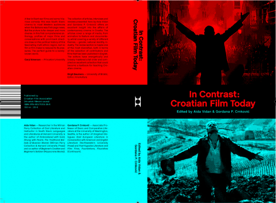 Cover of the book, In Contrast: Croatian Film Today.