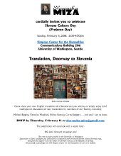Slovene Culture Day