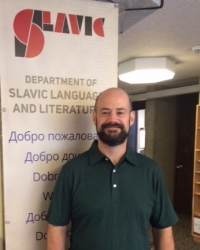 Slavic department administrator