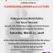 UWPSEC Fundraiser