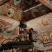 Image of ceiling of reconstructed Polish synagogue