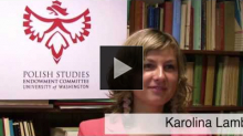 YouTube link to Interview with Karolina Lamb about Her Research in Poland